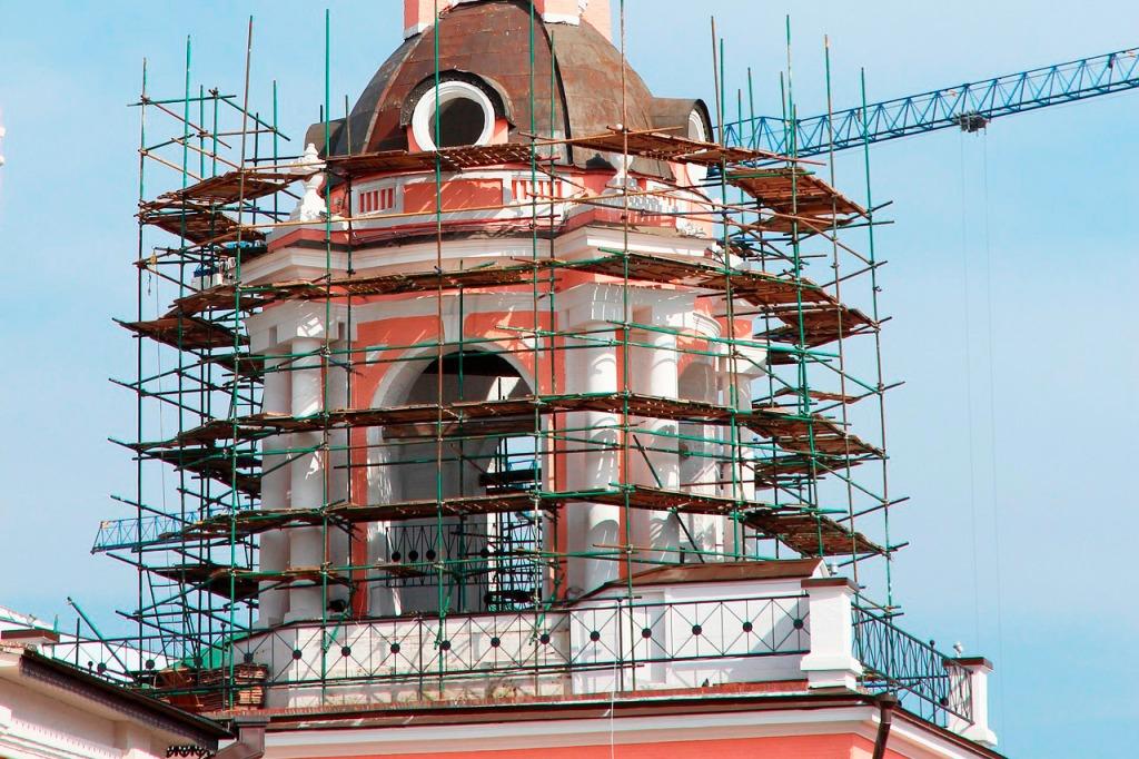 реставрация памятников архитекруты